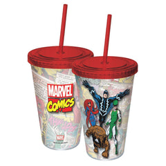 Marvel Inhumans Acrylic 16 oz. Travel Cup - Radar Toys