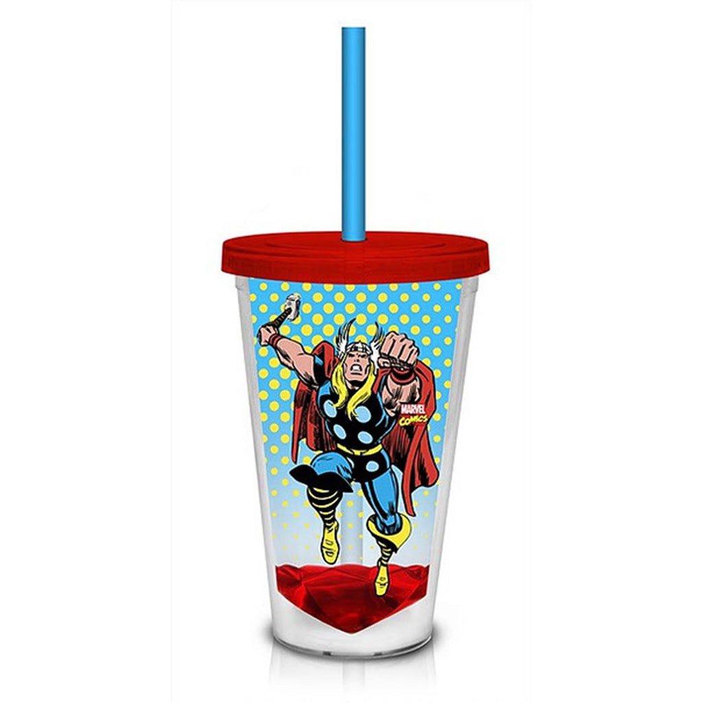 Marvel Retro Thor 18 oz. Carnival Travel Cup - Radar Toys