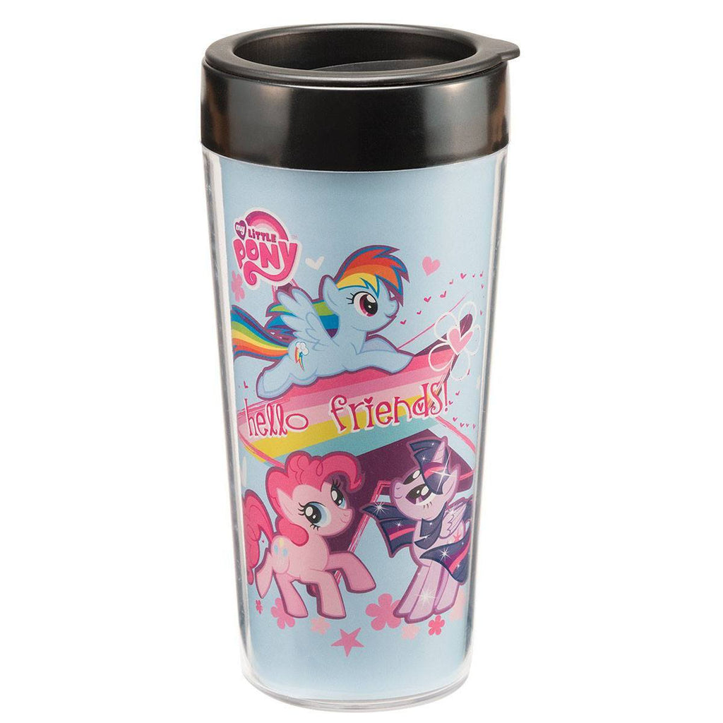 My Little Pony Hello Friends 16 oz. Travel Mug