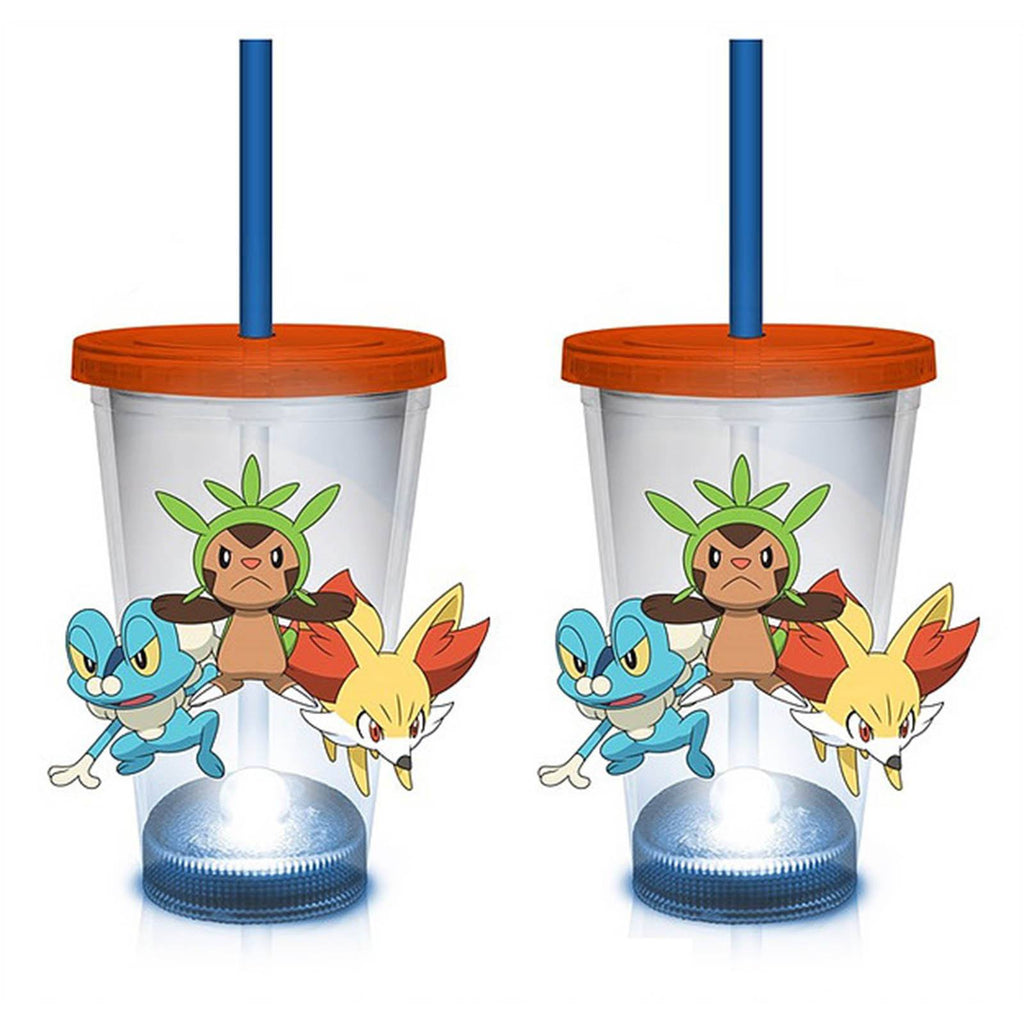 Pokemon Characters 18 oz. LED Travel Cup