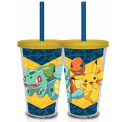 Pokemon Group Starting 18 oz. Carnival Travel Cup - Radar Toys