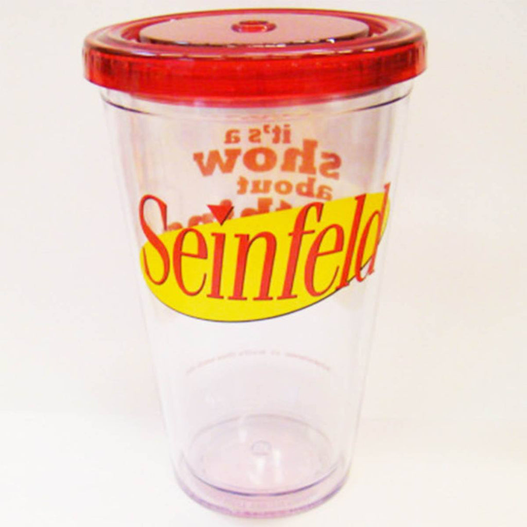 Seinfeld It's A Show About Nothing 16 Oz. Travel Cup