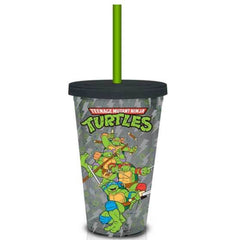 Teenage Mutant Ninja Turtles Glitter 18 oz. Travel Cup - Radar Toys