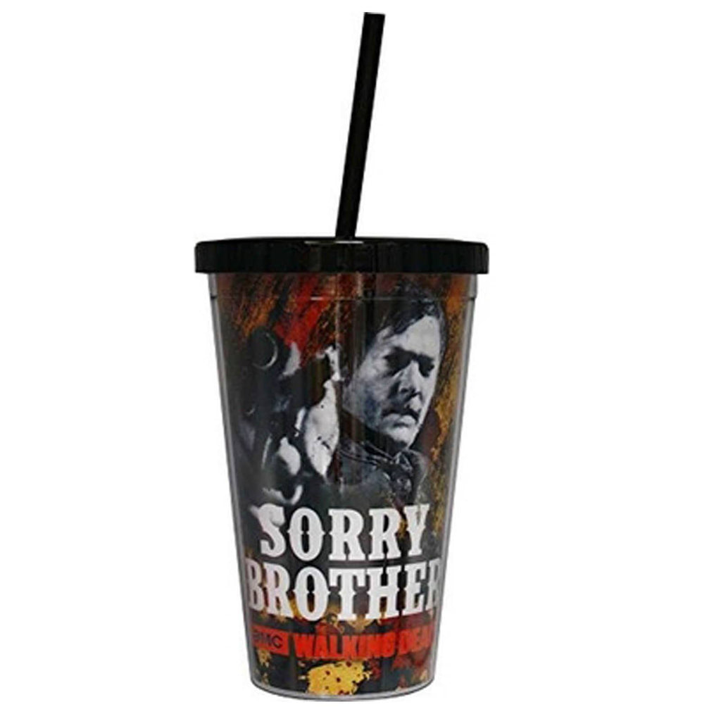 Walking Dead Sorry Brother Daryl 18 oz. Carnival Cup