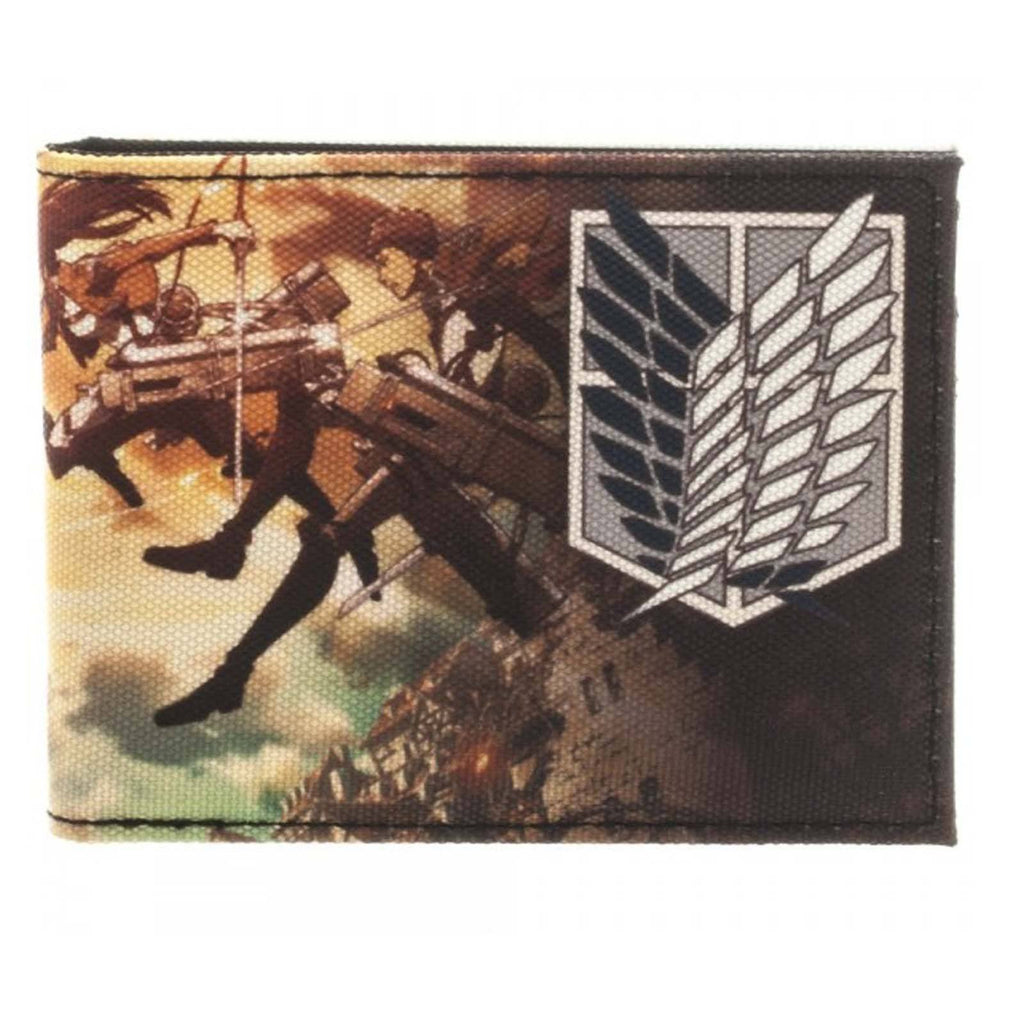 Attack On Titan Cast Bi-Fold Wallet