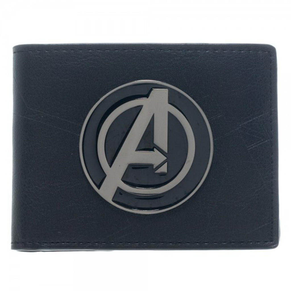 Avengers A Metal Badge Bi-Fold Wallet - Radar Toys