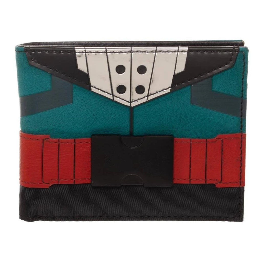 Bioworld My Hero Academia Izuku Midoriya Suit Up Bi-Fold Wallet