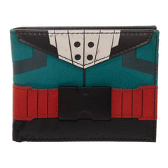 Wallets - Bioworld My Hero Academia Izuku Midoriya Suit Up Bi-Fold Wallet