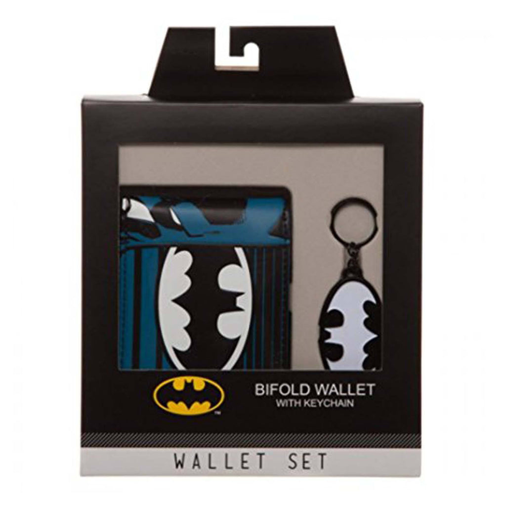 DC Comics Batman Classic Wallet And Keychain Box Set