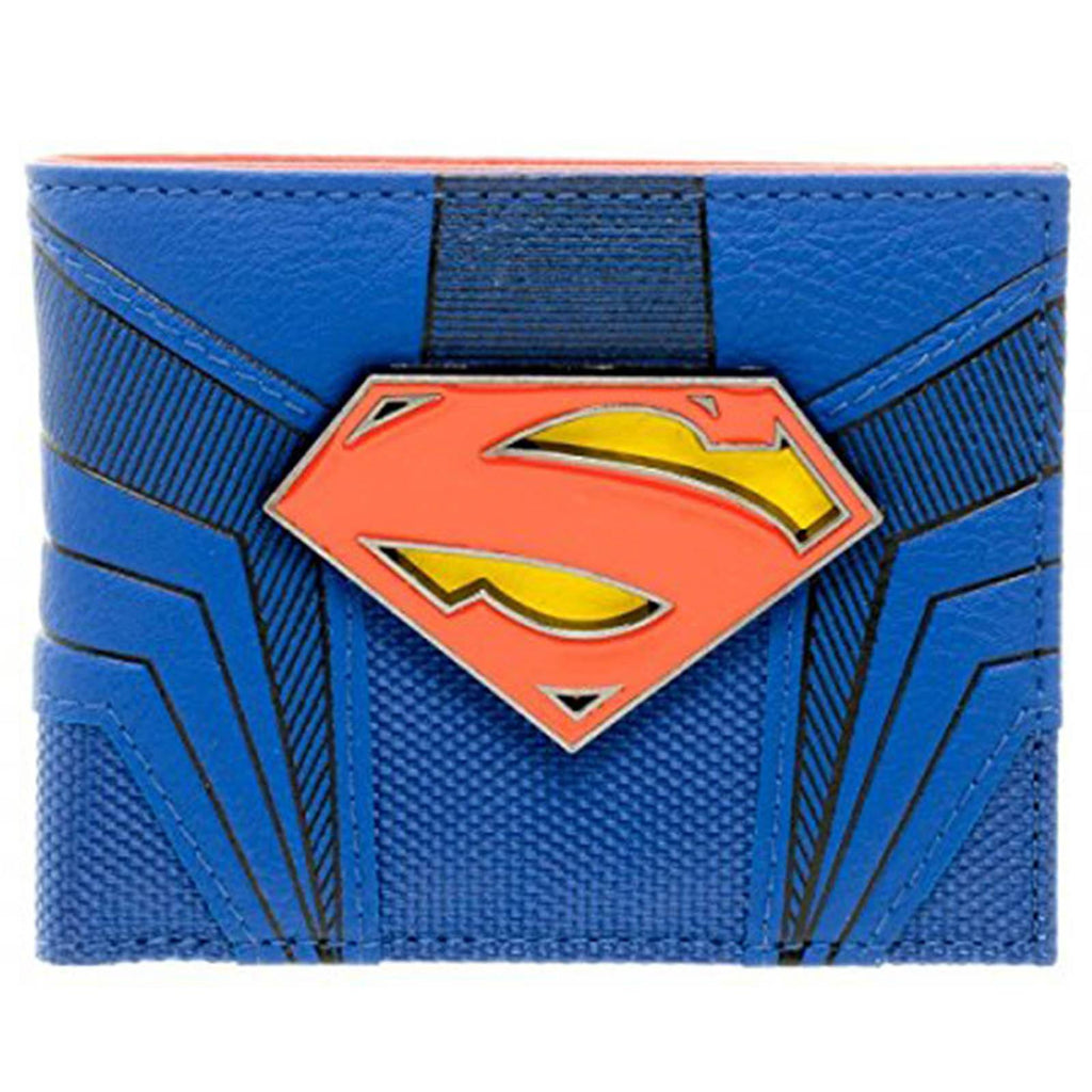 DC Comics Superman Suit Up Boxed Bi-Fold Wallet