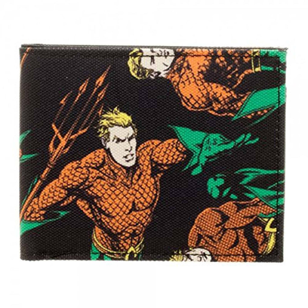 DC Justice League Aquaman Bi-Fold Wallet