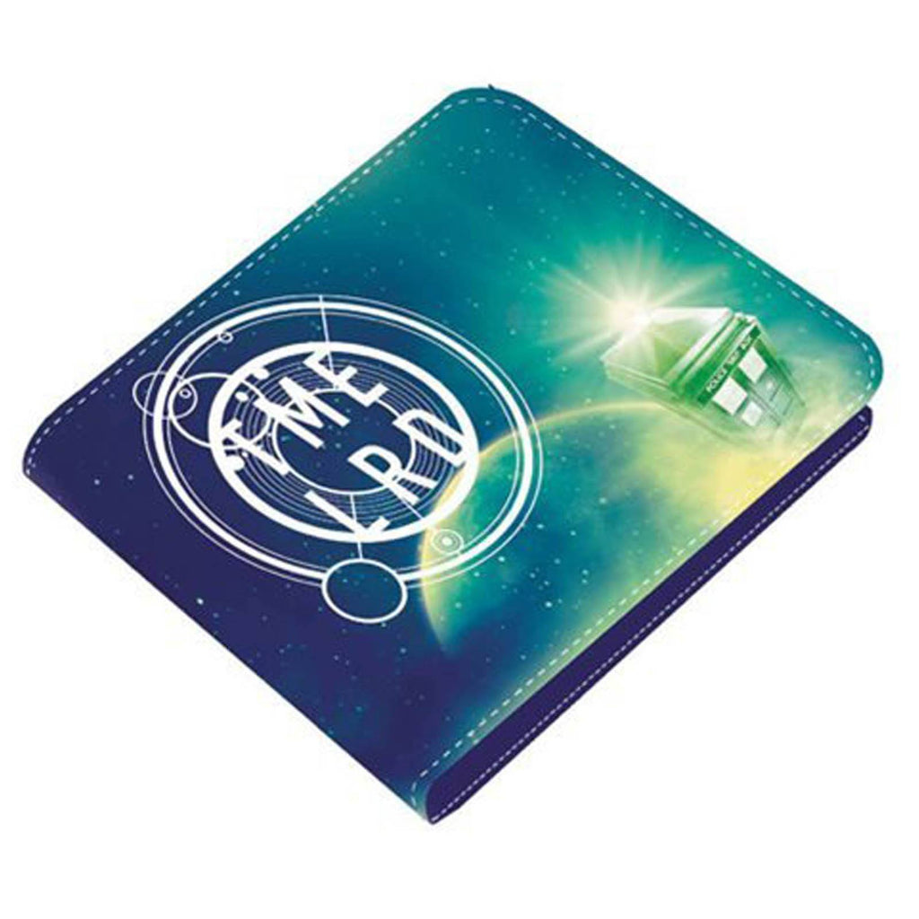 Doctor Who Cosmo Green Bi-Fold Wallet