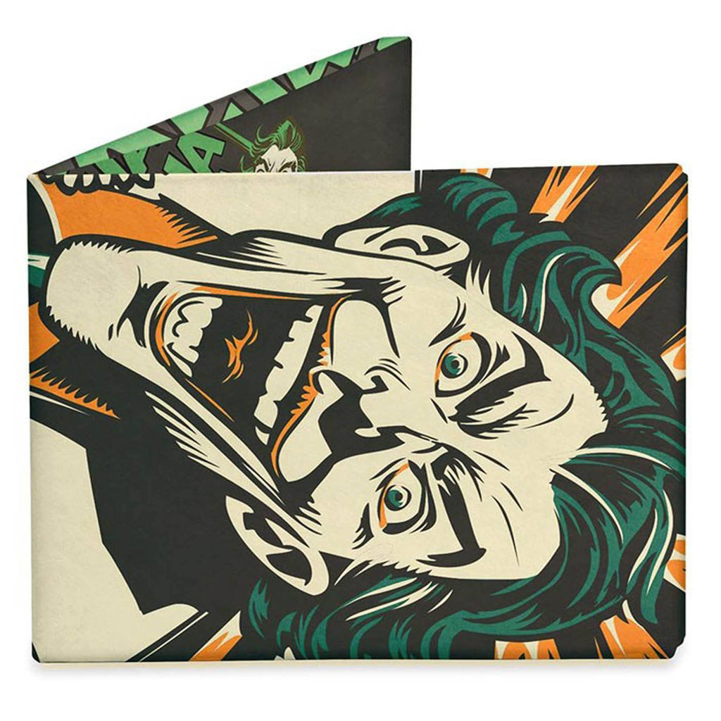 Dynomighty DC Comics Joker's Last Laugh Bi-Fold Mighty Wallet