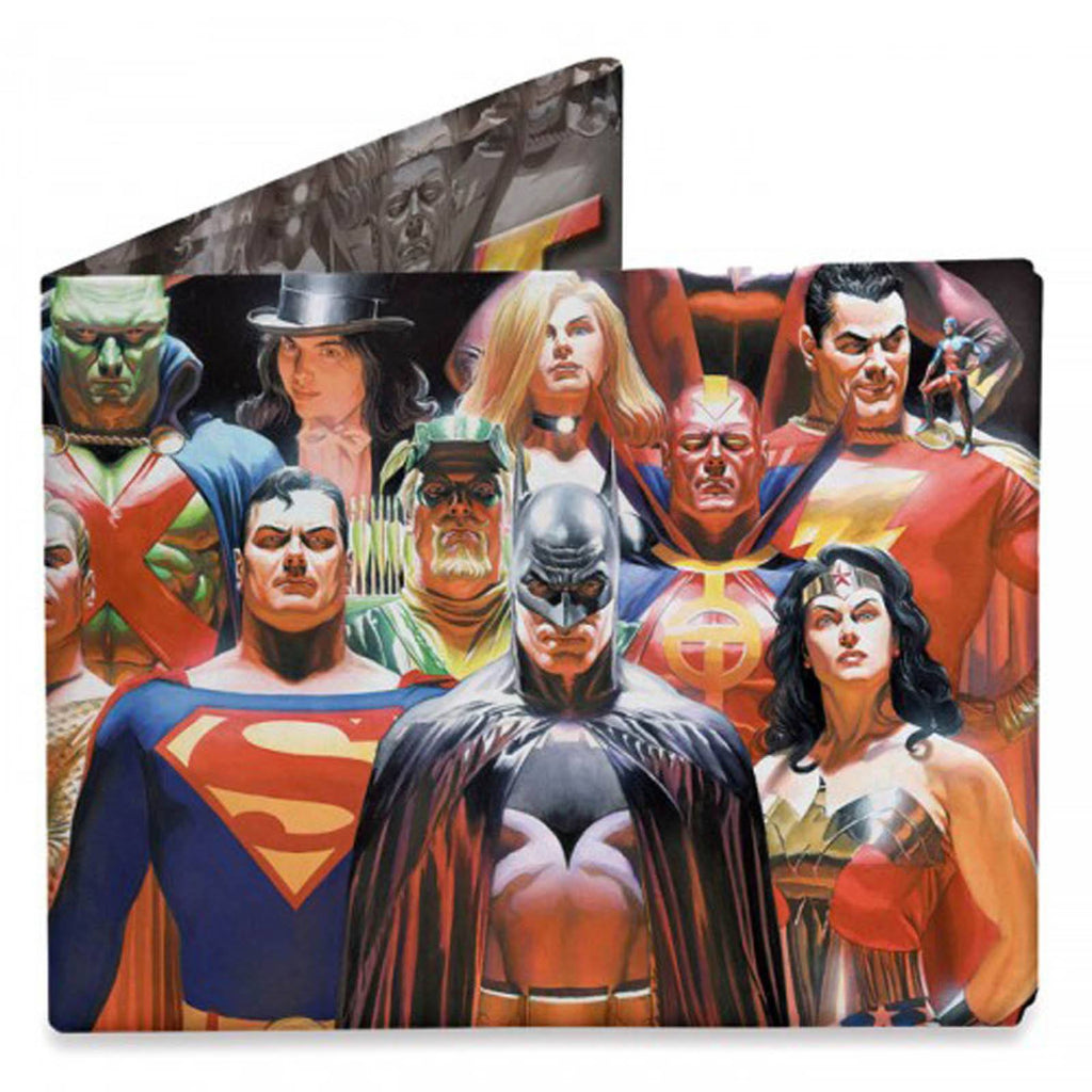 Dynomighty DC Comics Justice League Bi-Fold Mighty Wallet