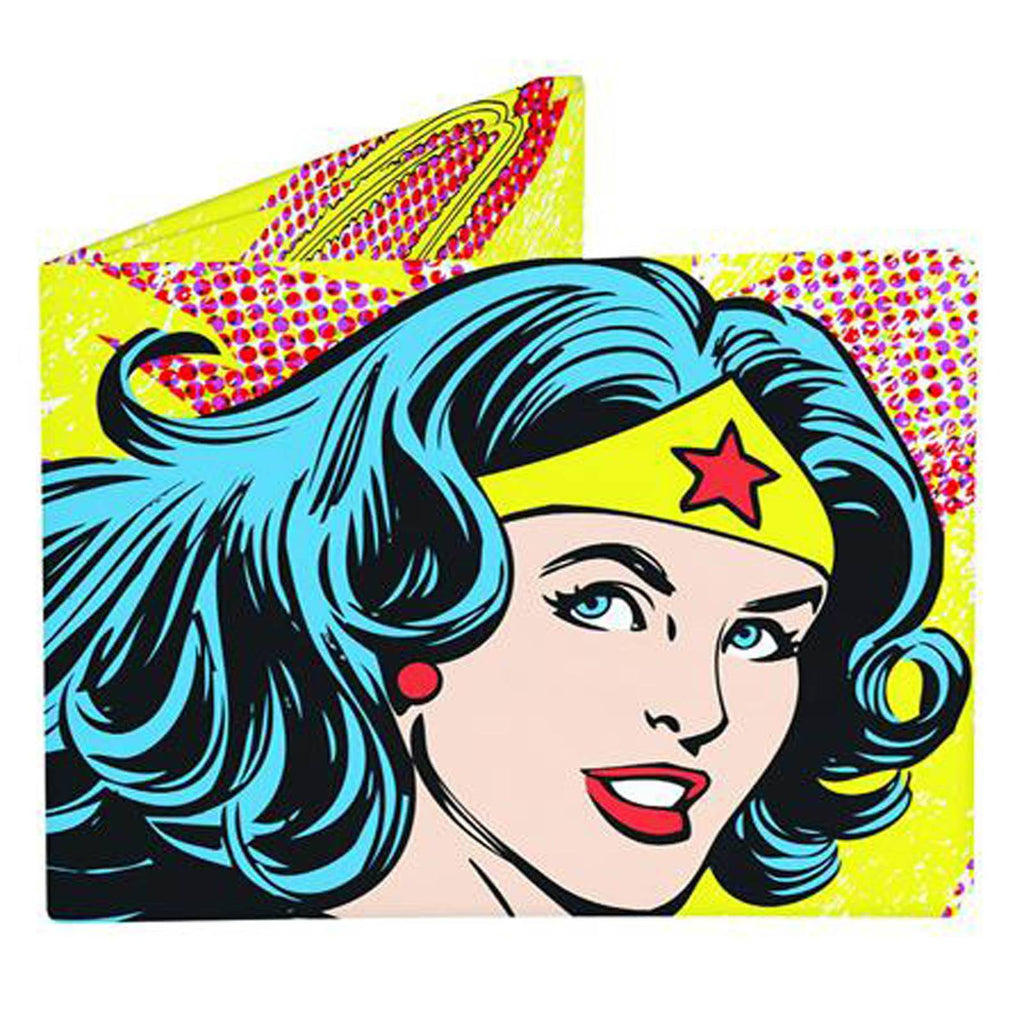 Dynomighty DC Comics Wonder Woman Vintage Bi-Fold Mighty Wallet