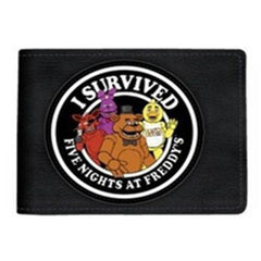 Five Nights At Freddy's I Survived Bi-Fold Wallet - Radar Toys