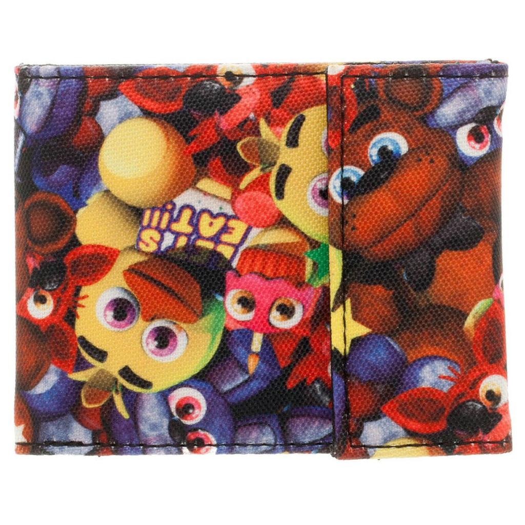 Five Nights At Freddy's Velcro Bi-Fold Wallet