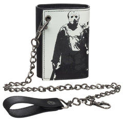 Wallets - Friday The 13th Jason Voorhees Chain Wallet