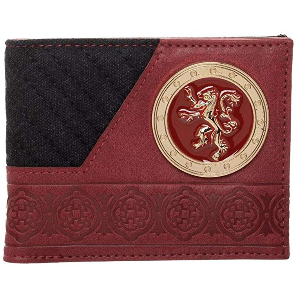 Game Of Thrones Lannister Crest Bi-Fold Wallet