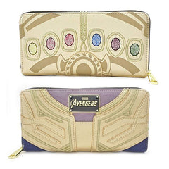 Wallets - Loungefly Avengers Infinity War Thanos Zip Around Wallet