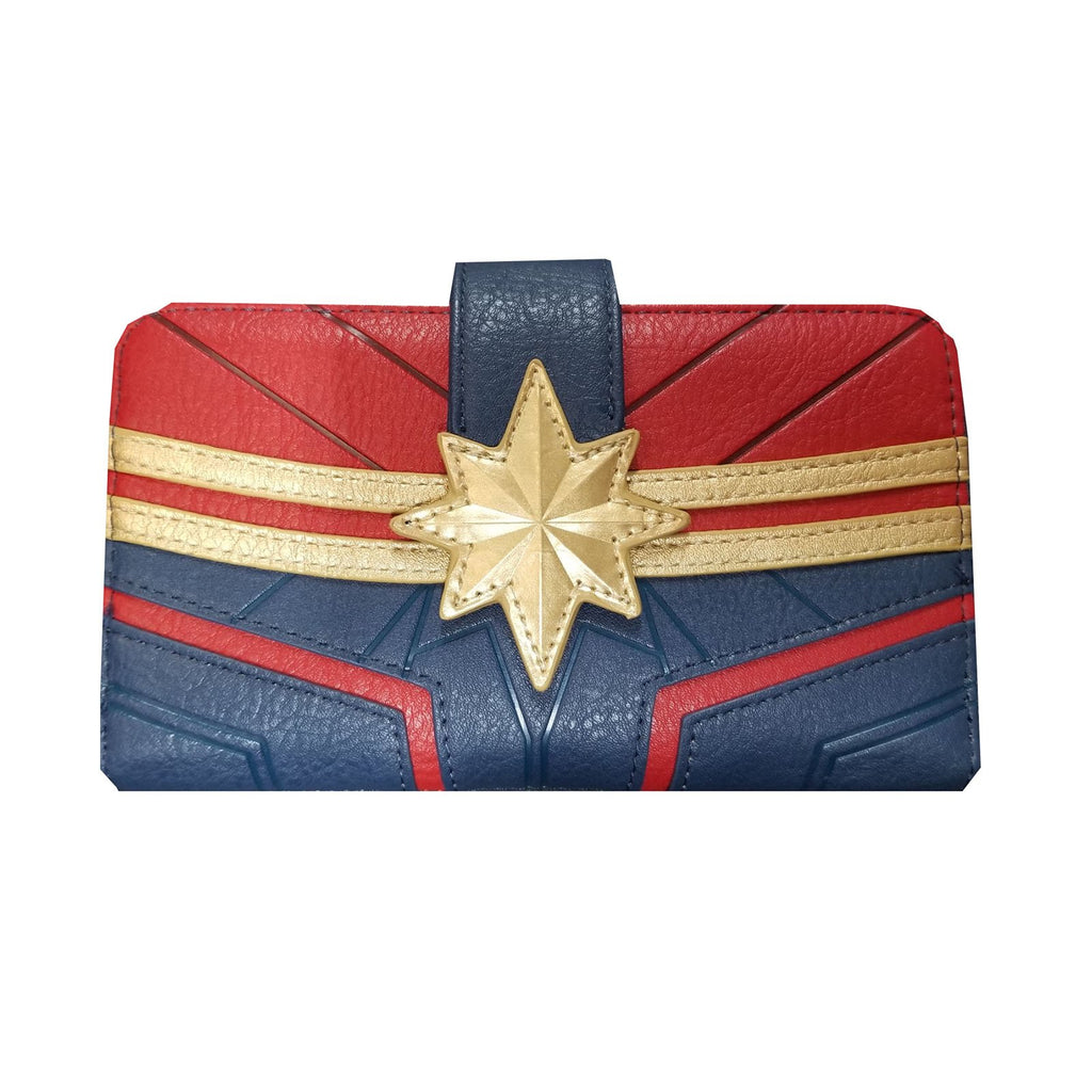 Loungefly Captain Marvel Debossed Suit Wallet