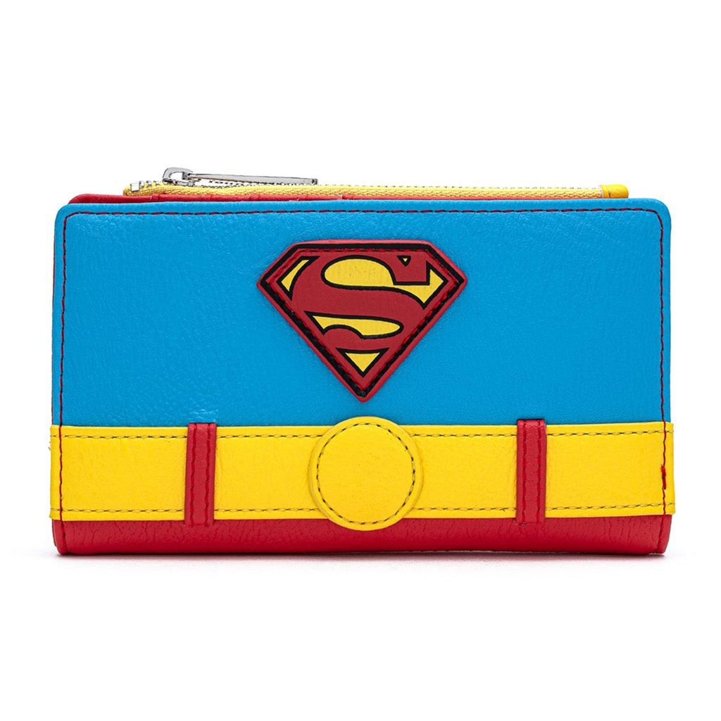 Loungefly DC Comics Superman Cosplay Vintage Style Wallet