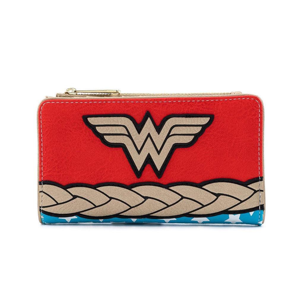 Loungefly DC Comics Vintage Wonder Woman Cosplay Wallet