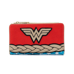 Wallets - Loungefly DC Comics Vintage Wonder Woman Cosplay Wallet