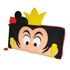 Wallets - Loungefly Disney Alice In Wonderland Queen Of Hearts Zip Around Wallet