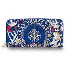 Wallets - Loungefly Disney Alice In Wonderland Time Zip Around Wallet