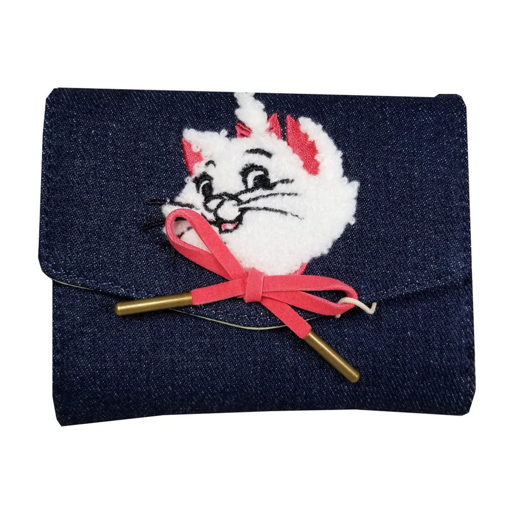 Loungefly Disney Aristocats Marie Denim Small Wallet