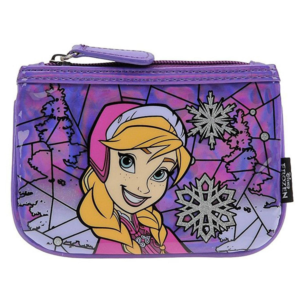 Loungefly Disney Frozen Anna Stained Glass Coin Bag