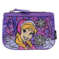 Loungefly Disney Frozen Anna Stained Glass Coin Bag - Radar Toys