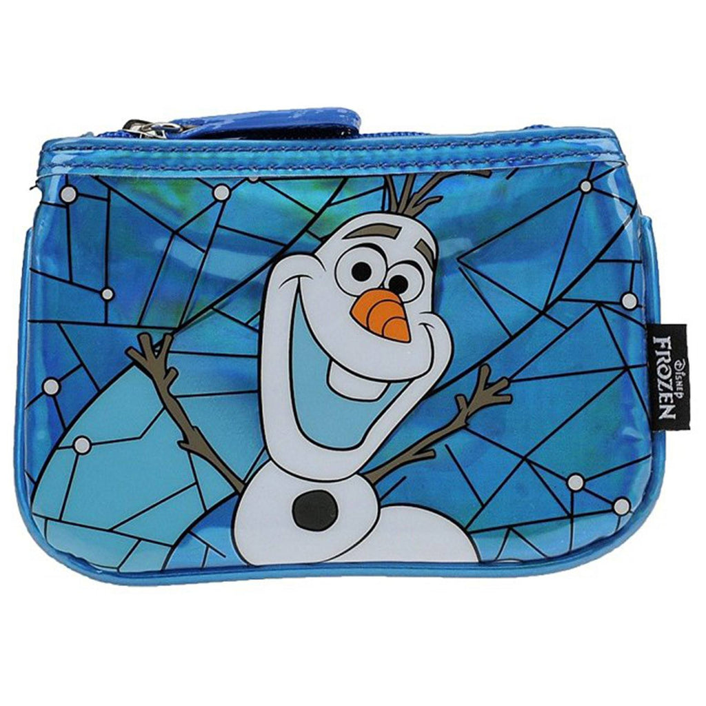 Loungefly Disney Frozen Olaf Blue Stained Glass Coin Bag