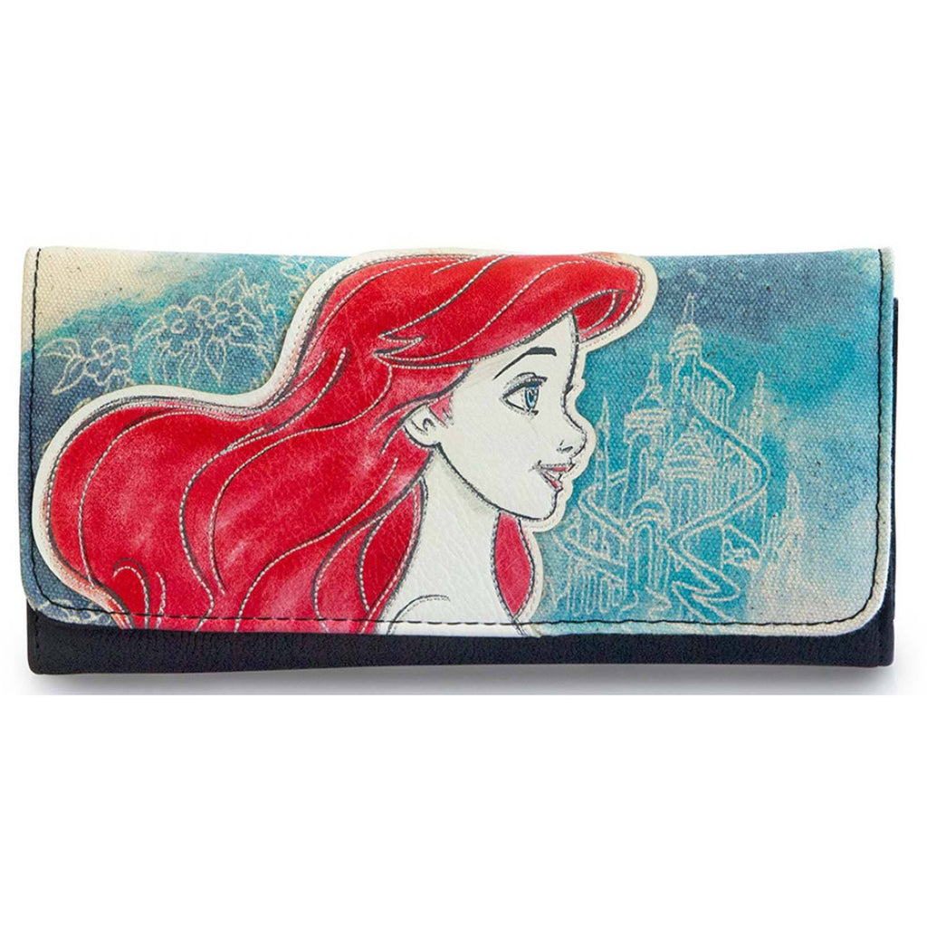 Loungefly Disney Little Mermaid Ariel Printed Flap Wallet