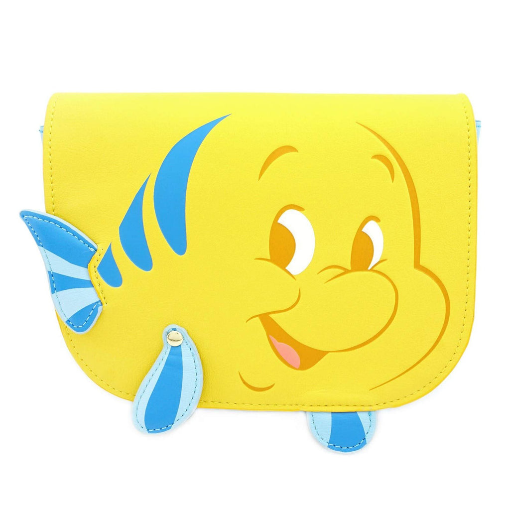 Loungefly Disney Little Mermaid Flounder Waist Bag Purse