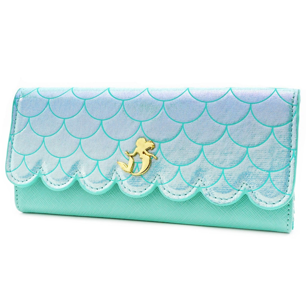 Wallets - Loungefly Disney Little Mermaid Saffiano Wallet