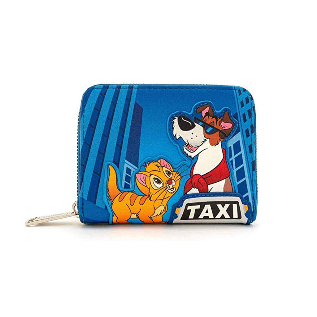 Loungefly Disney Oliver And Company Taxi Ride Wrap Around Wallet