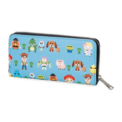 Wallets - Loungefly Disney Toy Story 4 Chibi All Over Print Zip Around Wallet