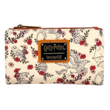 Wallets - Loungefly Harry Potter Floral Flap Wallet