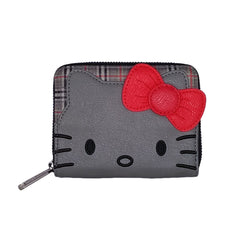 Wallets - Loungefly Hello Kitty Classic Fashion Plaid Zip Around Wallet