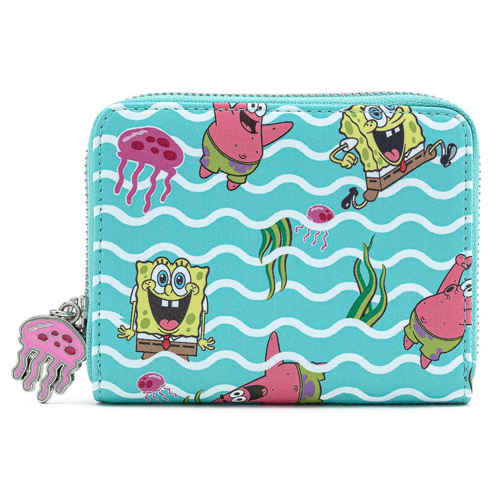 Loungefly Nickelodeon SpongeBob SquarePants Jelly Fishing Wallet
