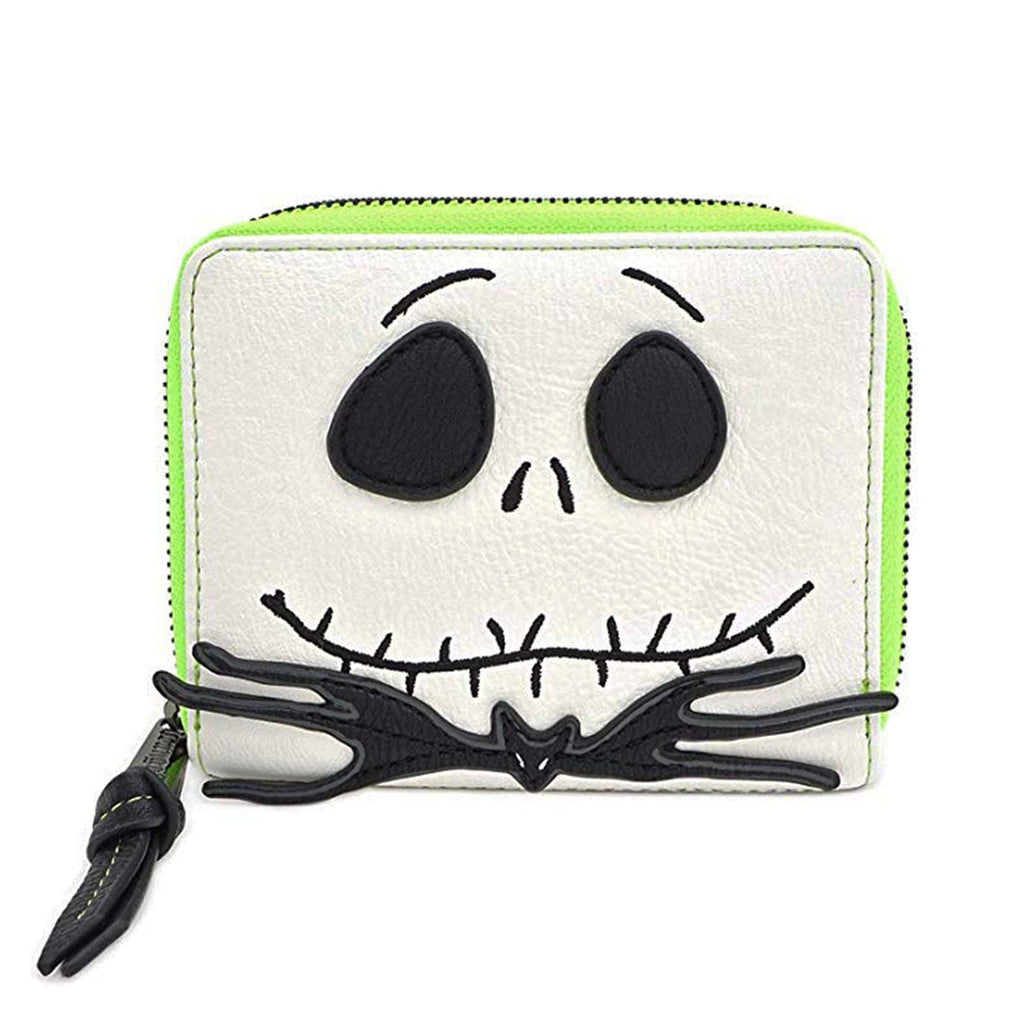 Loungefly Nightmare Before Christmas Jack Cosplay Small Zip Around Wallet