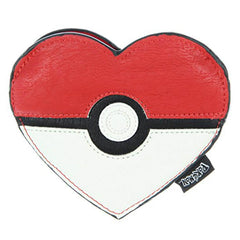 Loungefly Pokemon Pokeball Heart Coin Bag Purse - Radar Toys