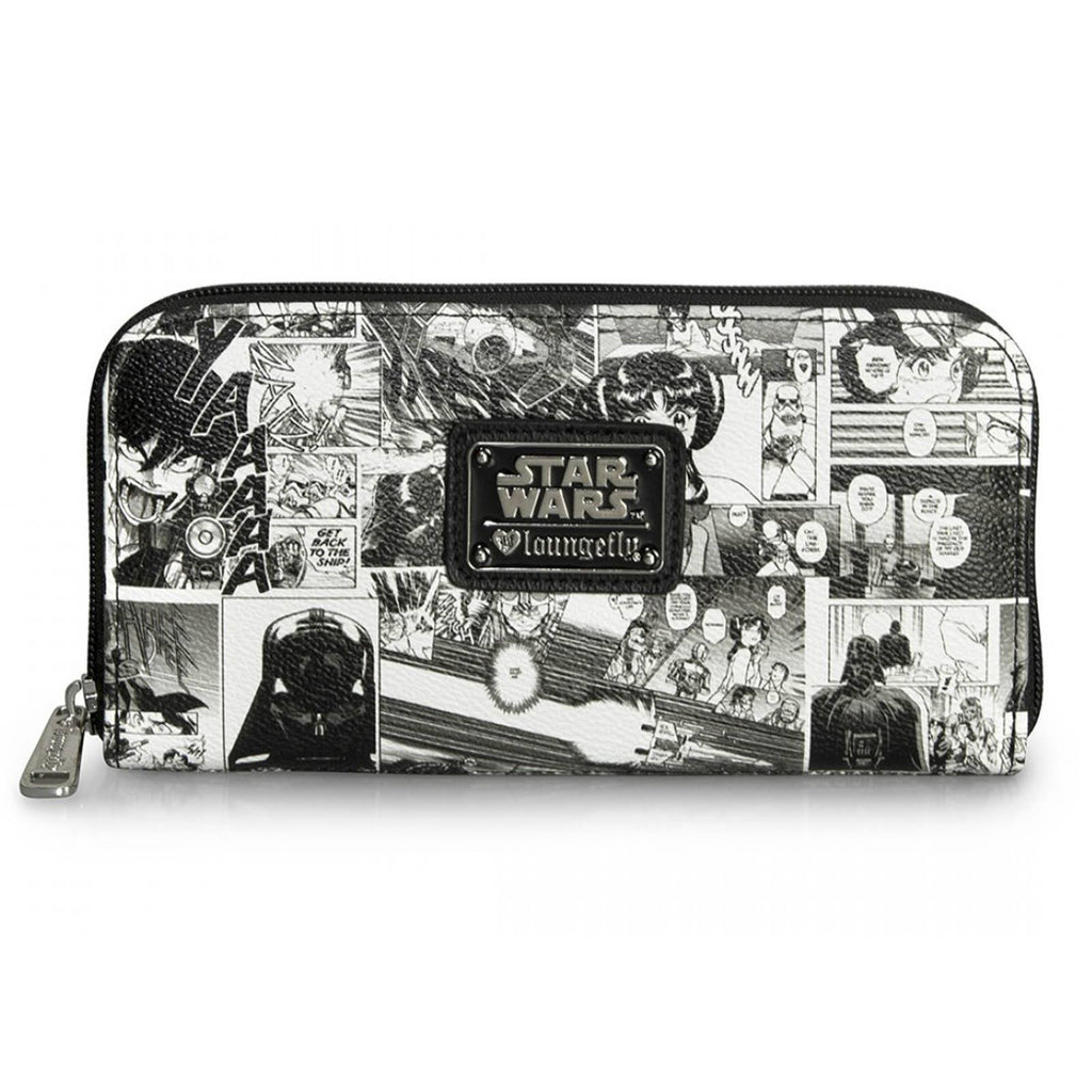 Loungefly Star Wars Black And White Comic Wallet