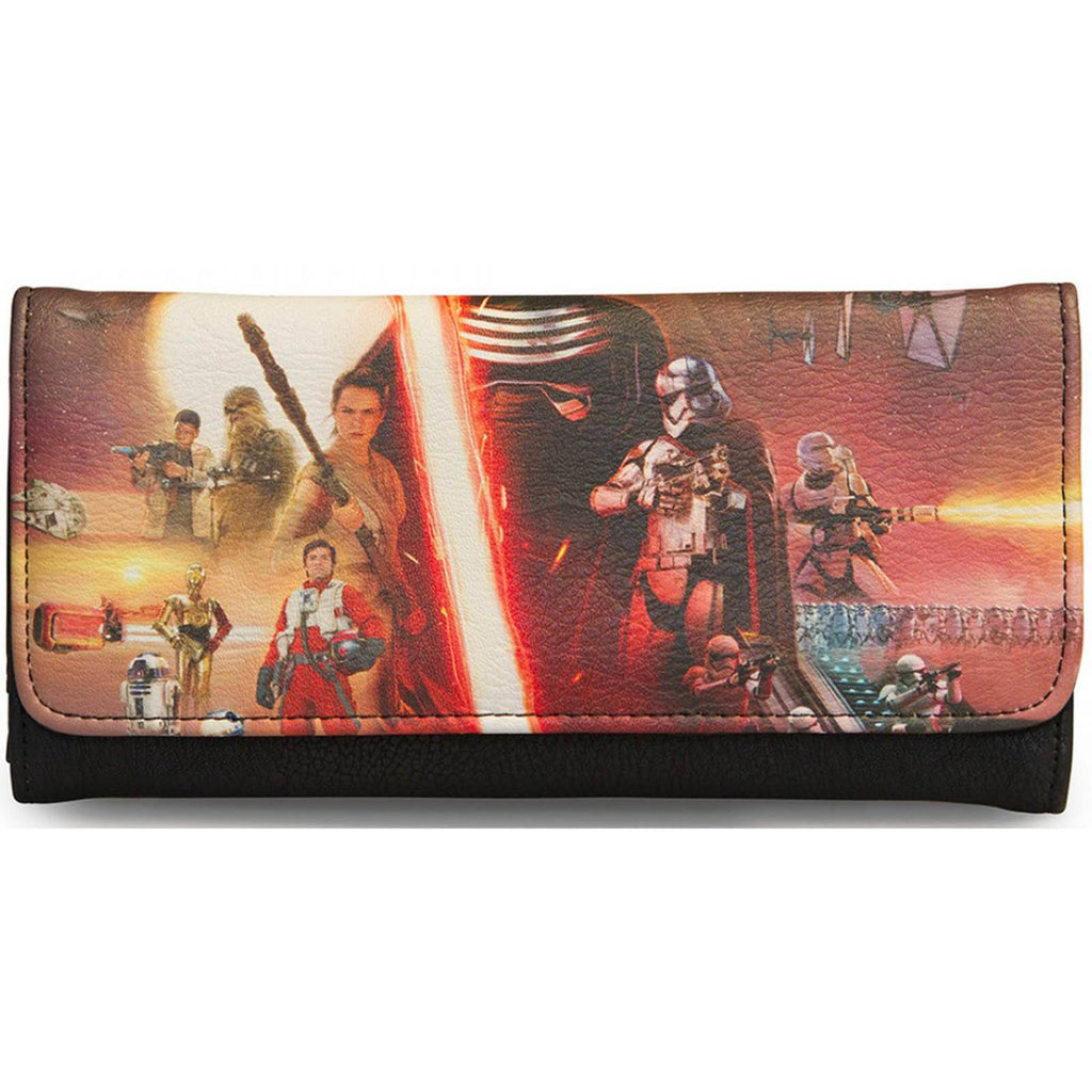 Loungefly Star Wars Force Awakens Movie Photo Wallet