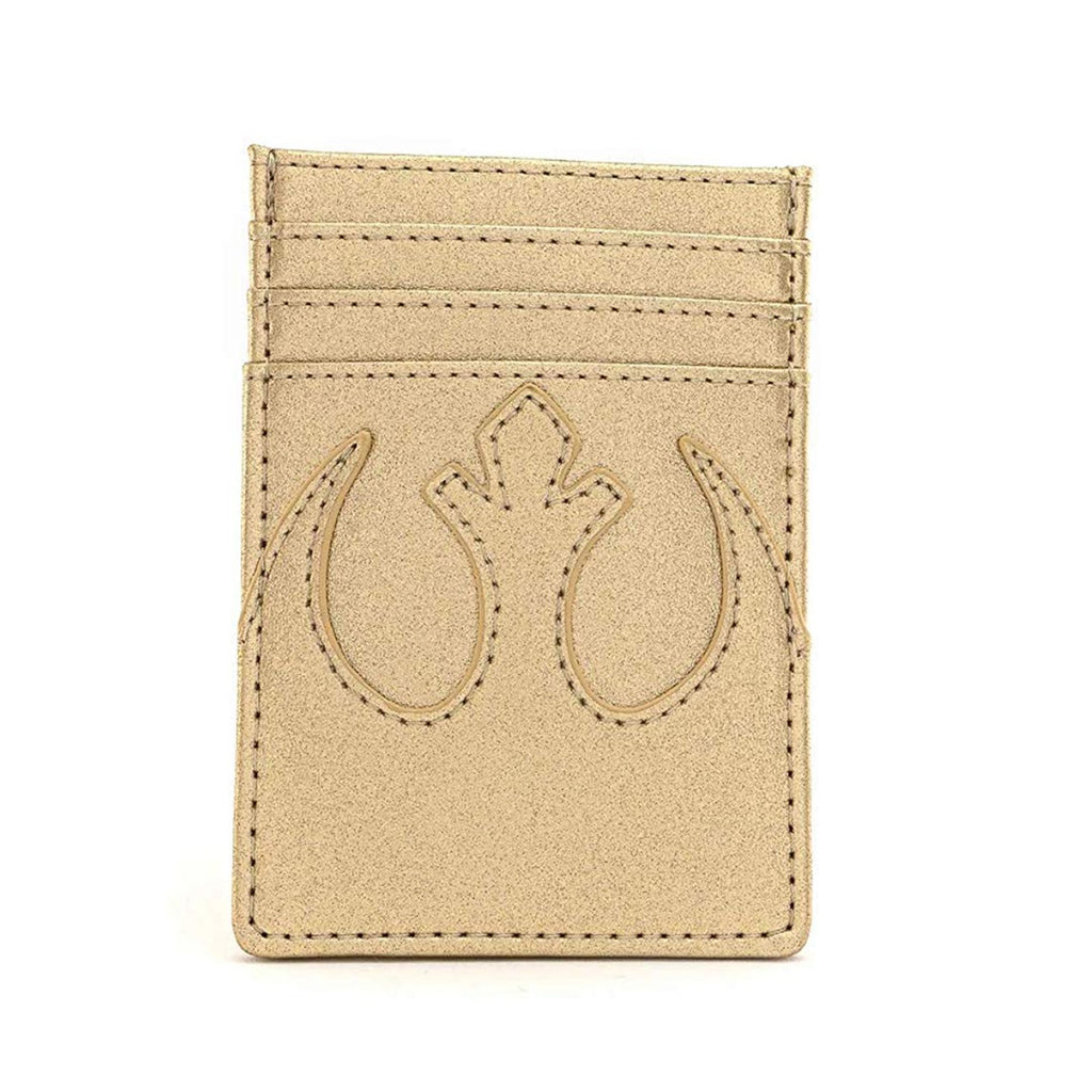 Loungefly Star Wars Gold Rebel Cardholder ID Wallet