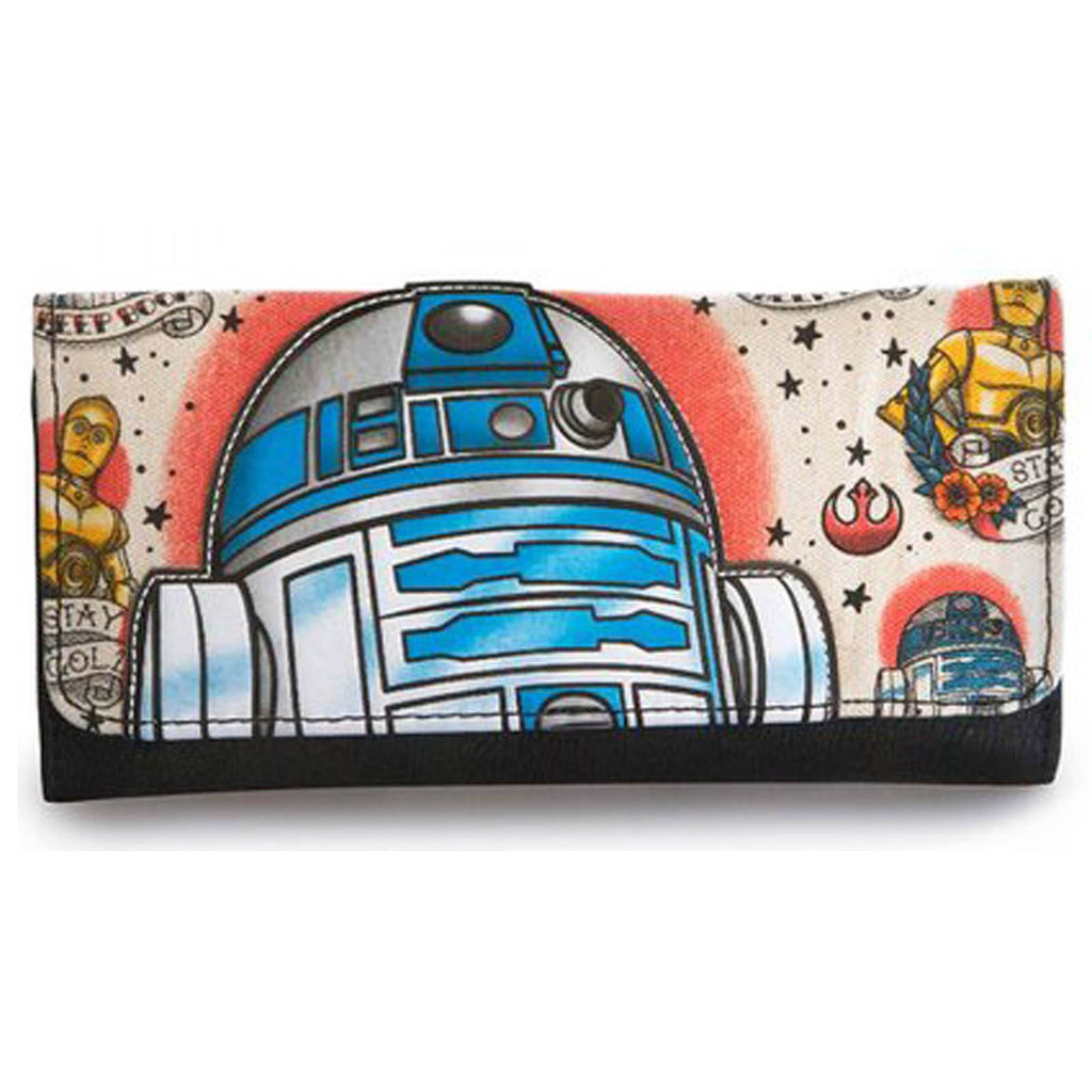 Loungefly Star Wars R2-D2 Tattoo Wallet