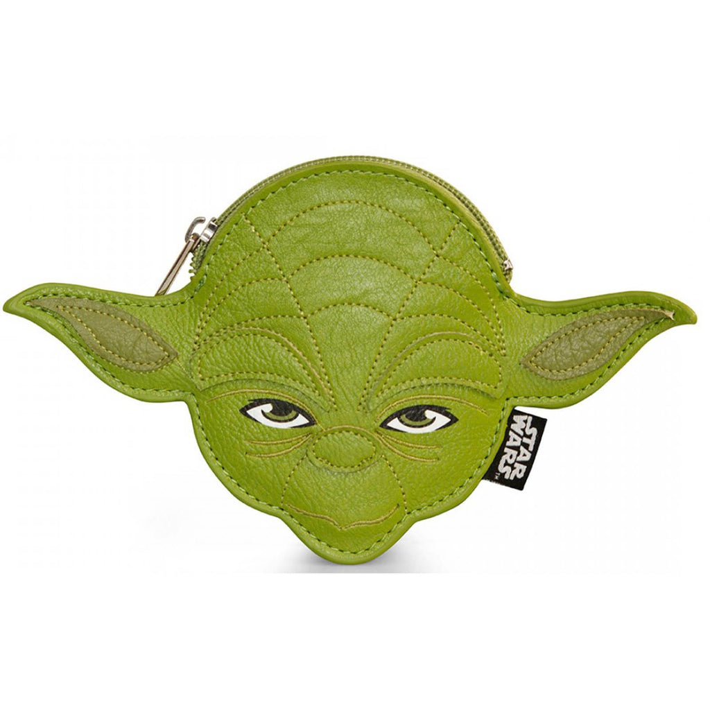 Loungefly Star Wars Yoda Faux Leather Face Coin Bag