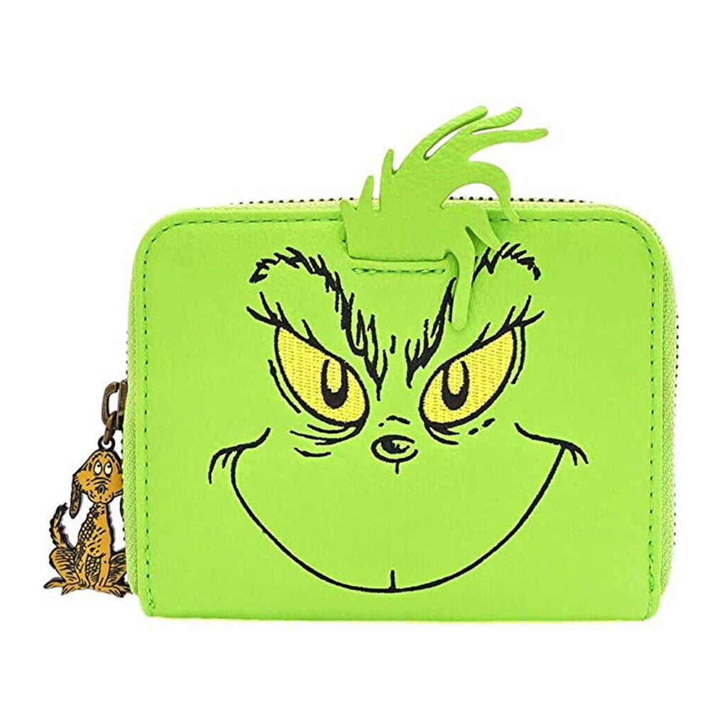 Loungefly The Grinch Cosplay Zip Around Wallet